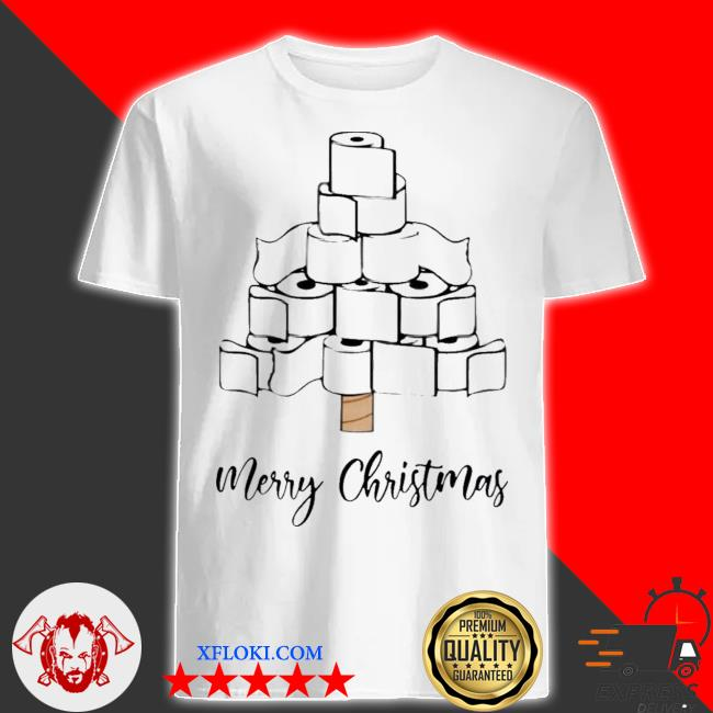 Toilet paper merry christmas tree 2020 shirt