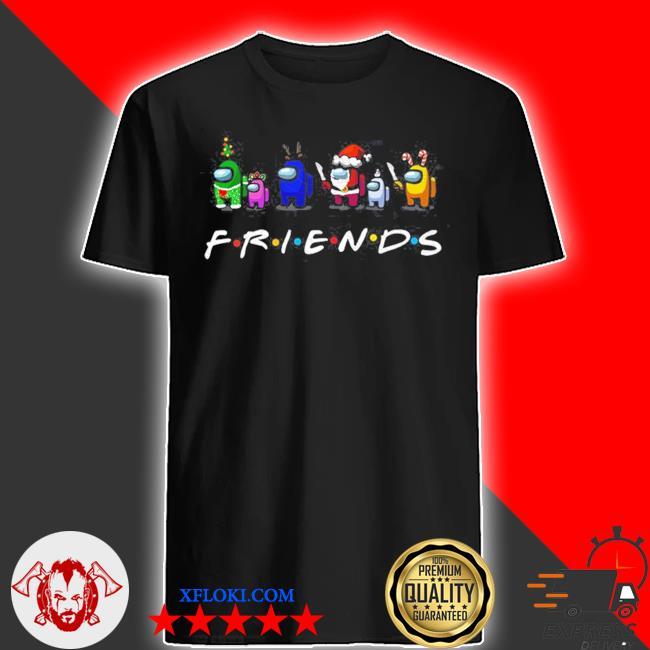 Among Us friends christmas sweater