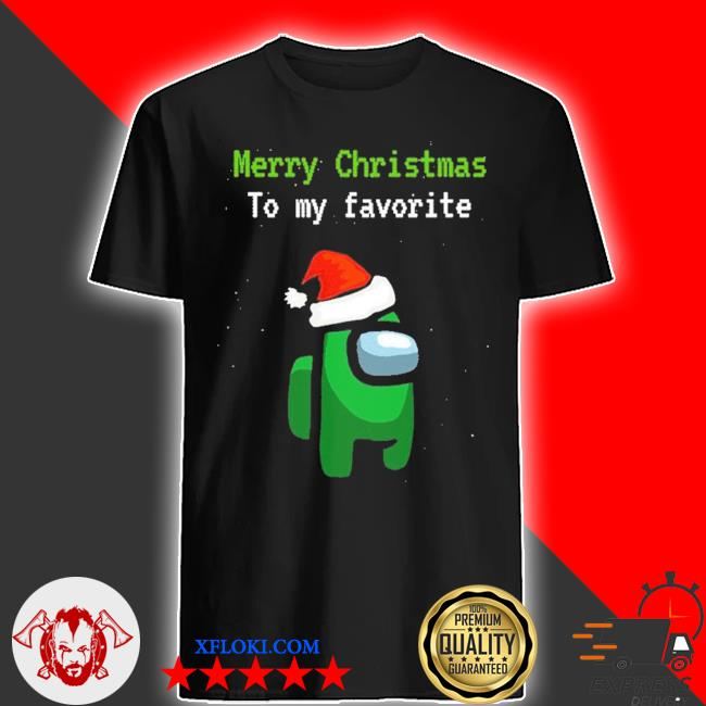 Among us gamer merry christmas to my favorite sweater