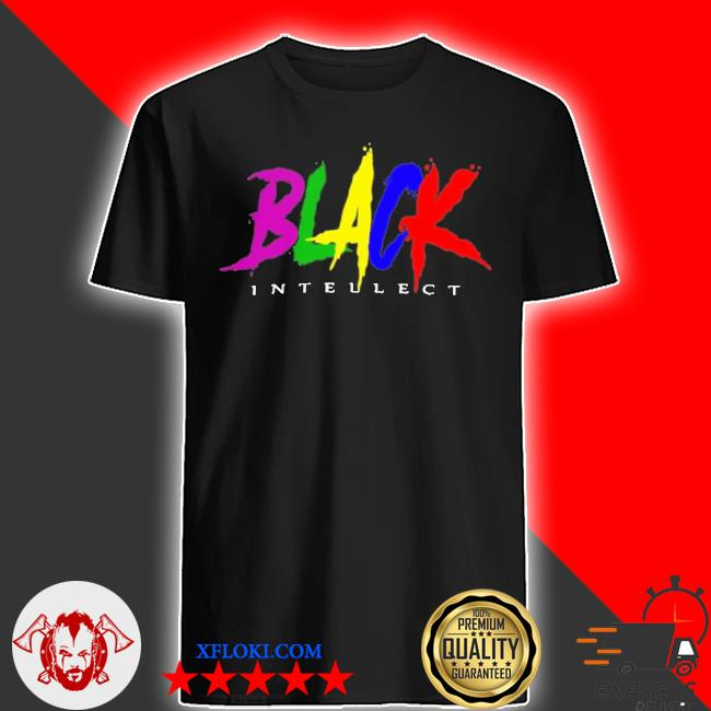 Black intellect store shirt