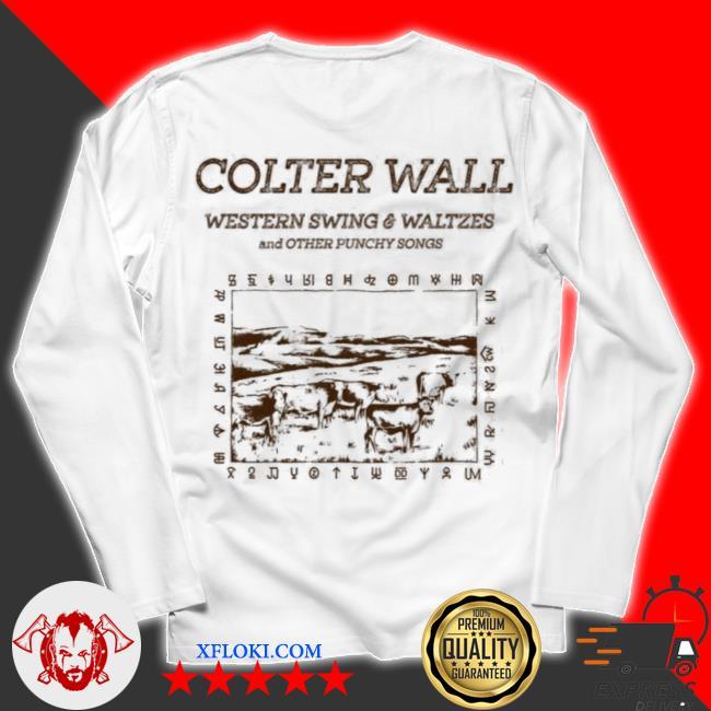 Colter wall western swing and waltzes s unisex longsleeve