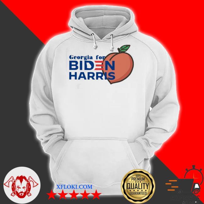 Georgia for biden harris peach s hoodie
