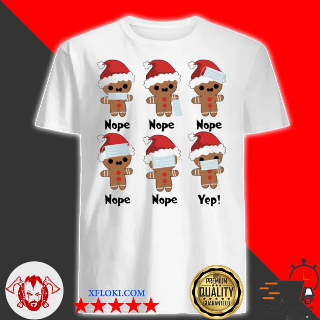 Gingerbread nope yes christmas sweater