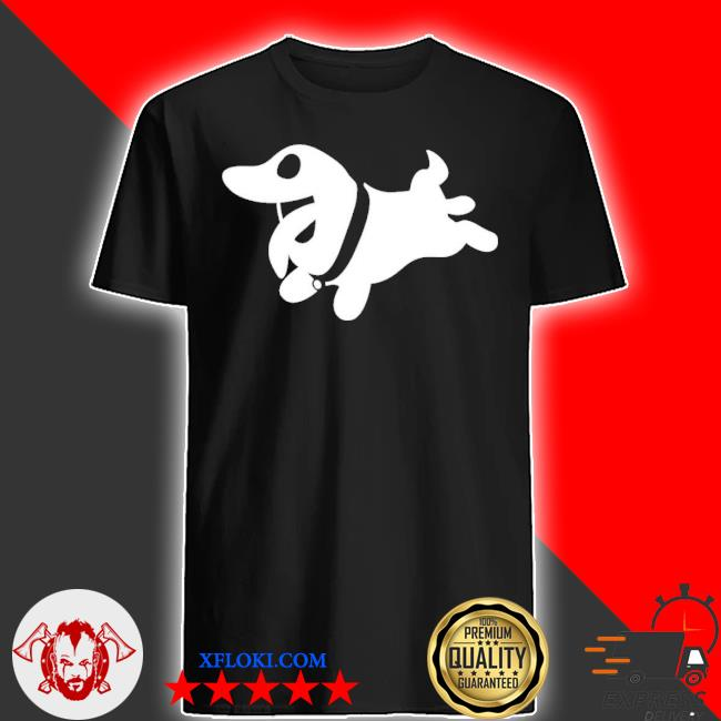 Glow in the dark polter pup shirt