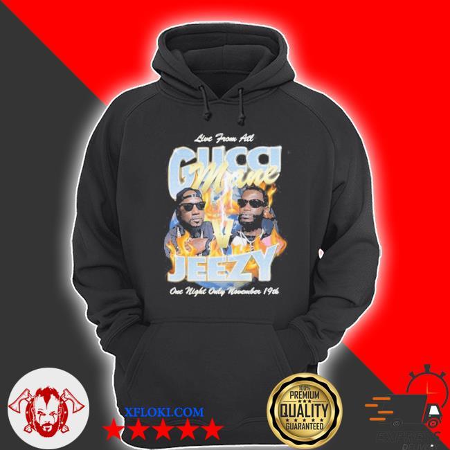 Gucci mane verzuz jeezy s hoodie