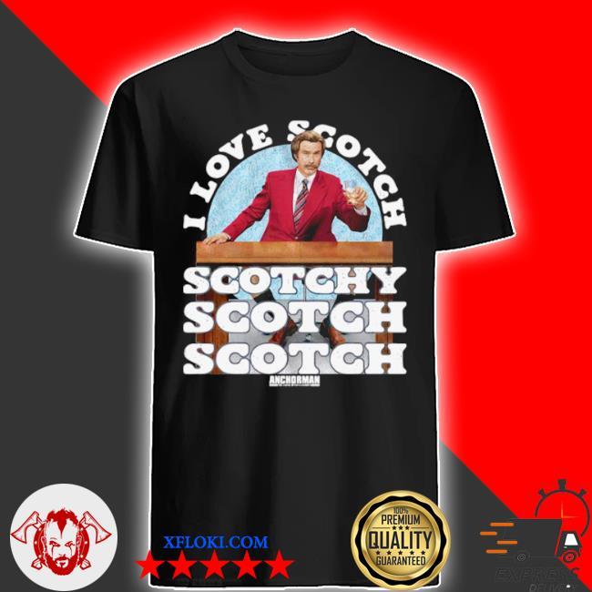 I love scotch scotchy scotch scotch anchorman merry Christmas sweater