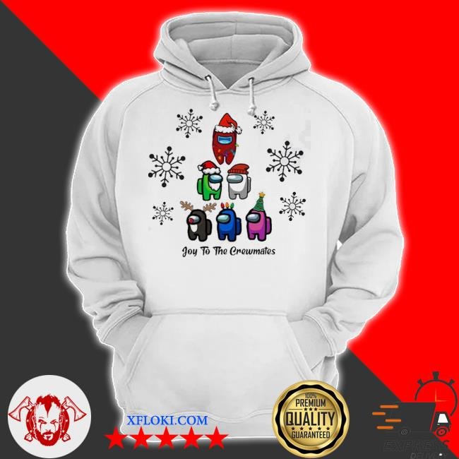 Joy to the crewmates among us christmas sweater hoodie