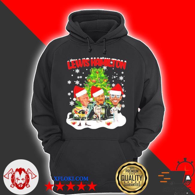 Lewis hamilton chibi Christmas tree sweater hoodie