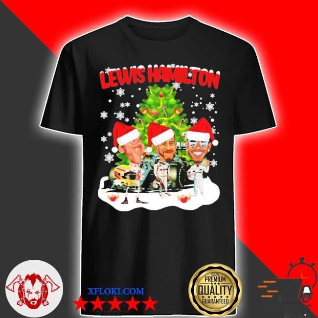 Lewis hamilton chibi Christmas tree sweater