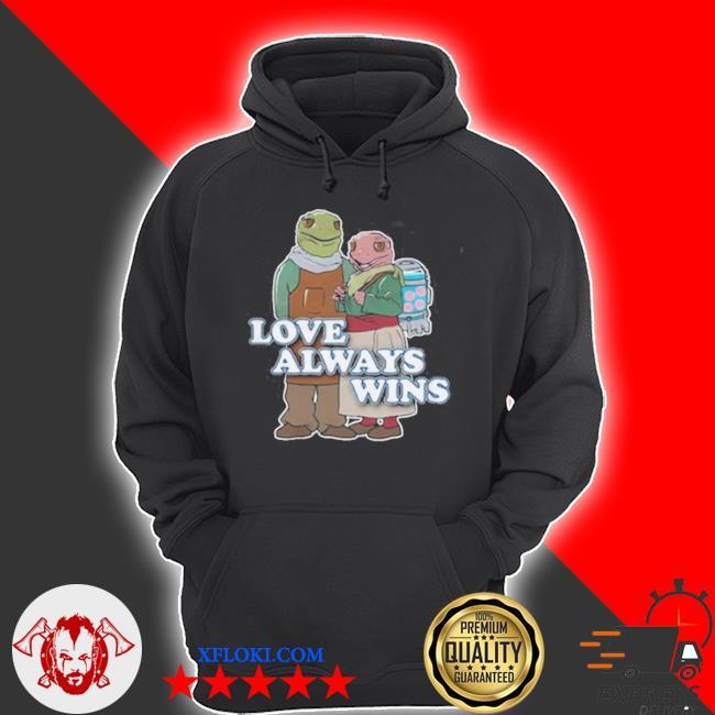 Love always wins s hoodie