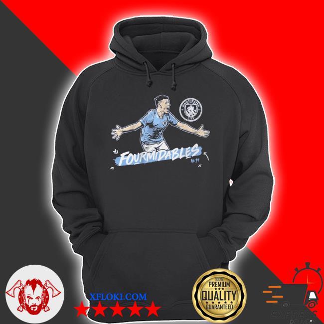 Man city fourmidables s hoodie