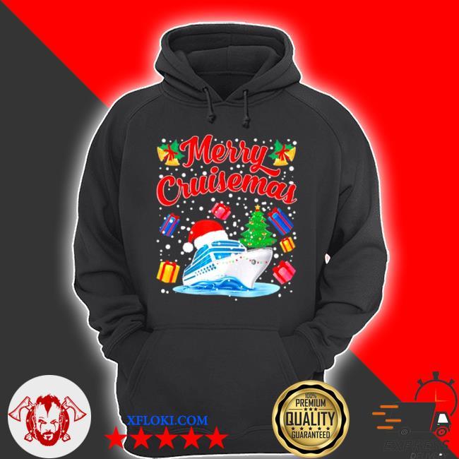 Merry cruisemas family cruise Christmas 2020 santa hat sweater hoodie