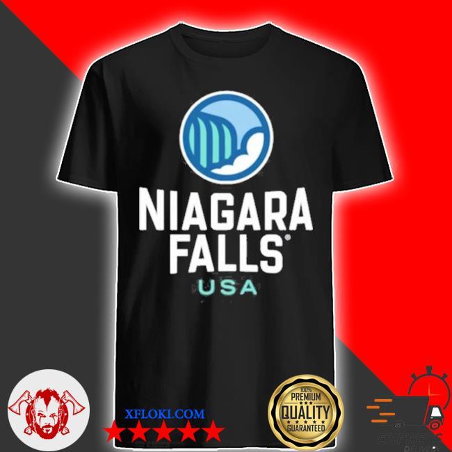 Niagara falls heart usa pullover shirt