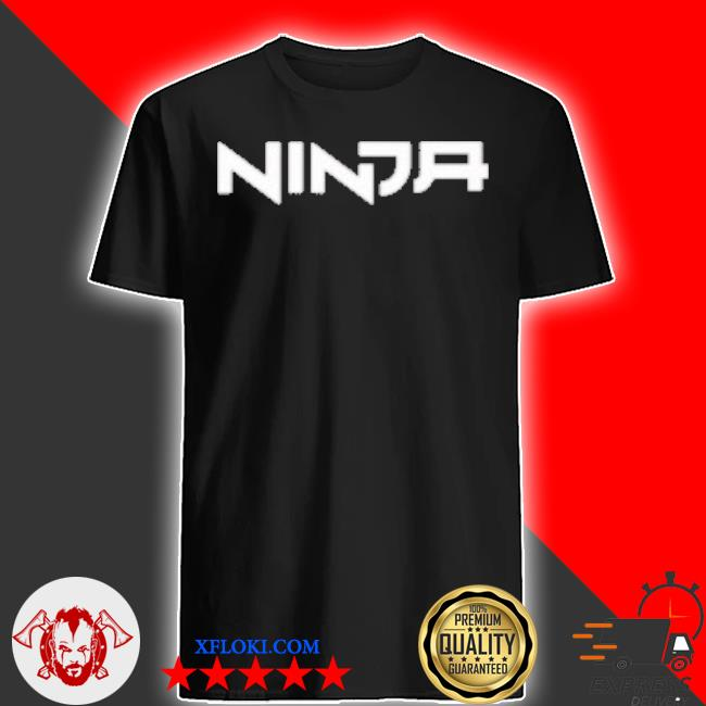 Ninja gamer midnight team shirt