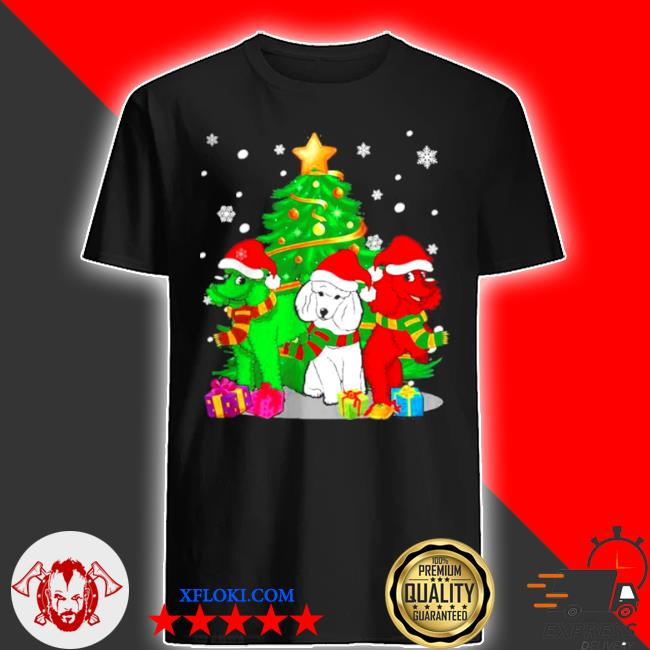 Santa poodle dogs Christmas 2020 sweater