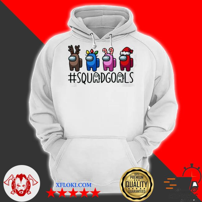 Squad goals among us christmas sweater hoodie