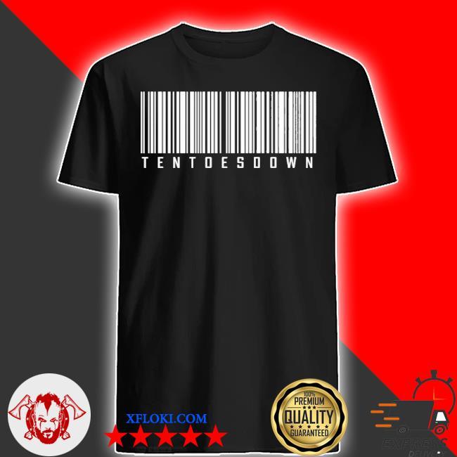 Ten toes down merch ten toes down barcode shirt