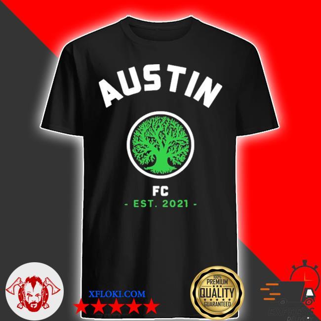 Austin soccer team fc Texas 2021 shirt