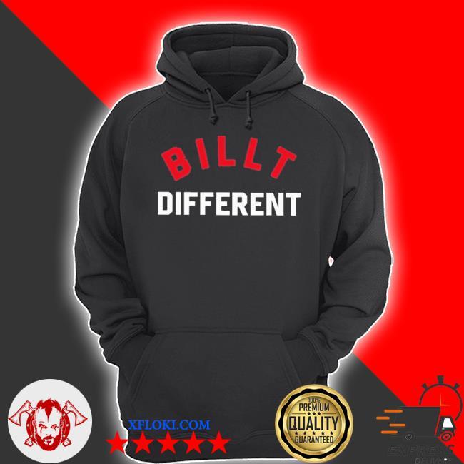 Billt different s hoodie