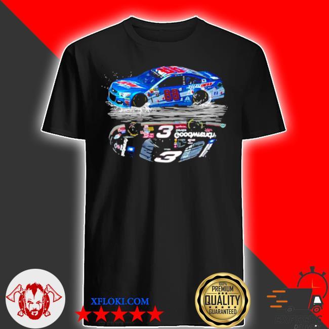 Car of dale earnhardt an American professional stock car driver shir shirt