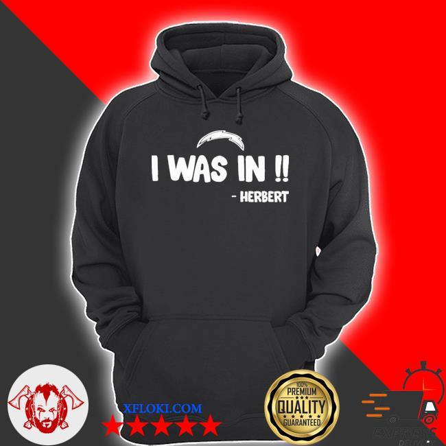 I was in herbert s hoodie