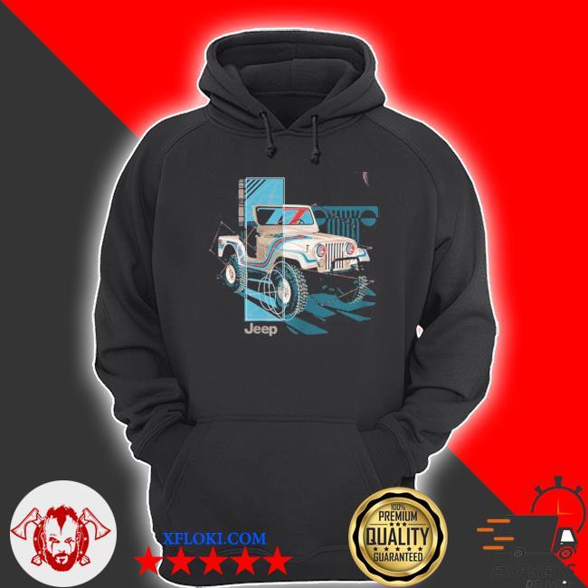 Jeep wrangler painted angles s hoodie