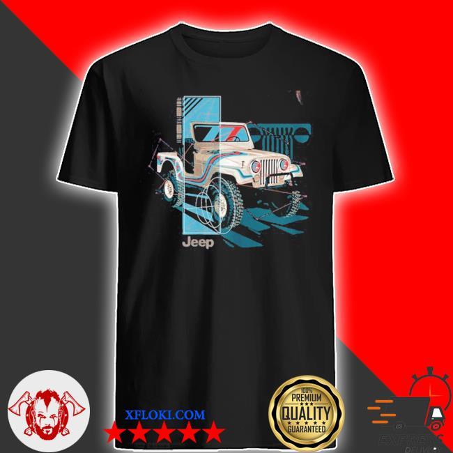 Jeep wrangler painted angles shirt
