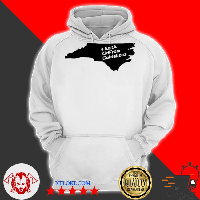 Just a kid from goldsboro nc map s hoodie