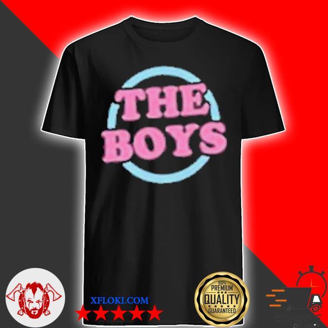 The boys merch the boys shirt