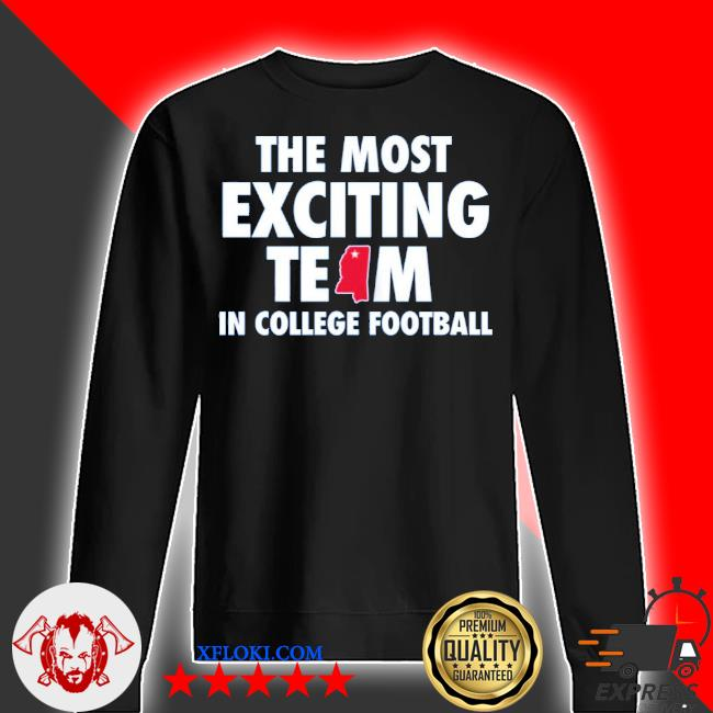 The most exciting team in college football s sweater