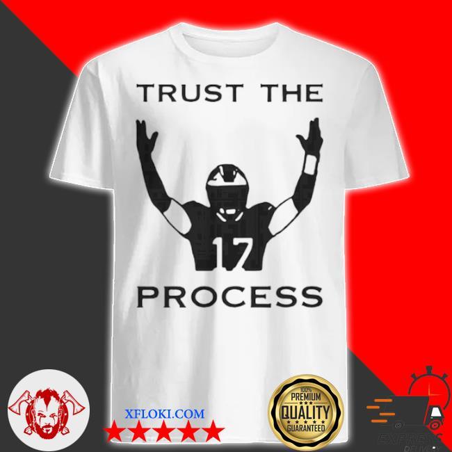 17 trust the process shirt