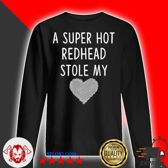 A super hot redhead stole my heart s sweater