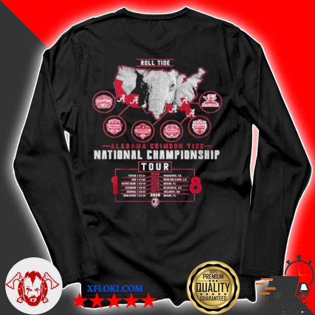 Alabama crimson tide national championship 2021 s longsleeve