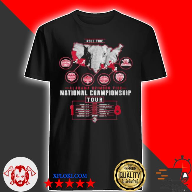 Alabama crimson tide national championship 2021 shirt