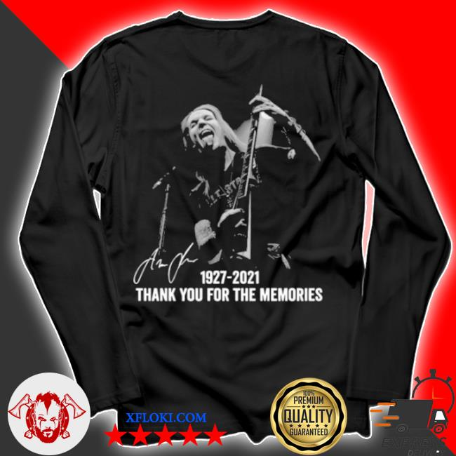 AlexI laiho 1927 2021 thank you for the memories signatures s longsleeve