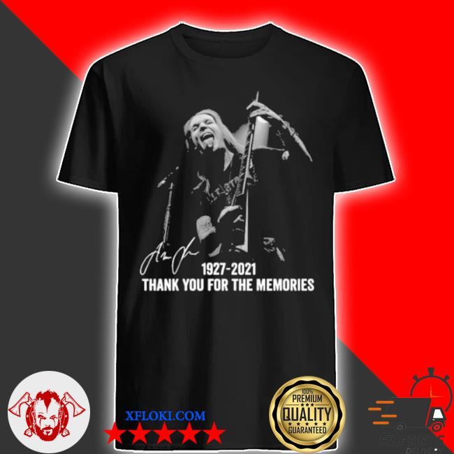 AlexI laiho 1927 2021 thank you for the memories signatures shirt