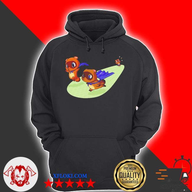 Animal crossing new leaf tom nook gamecube nintendo 64 blacks cute s hoodie