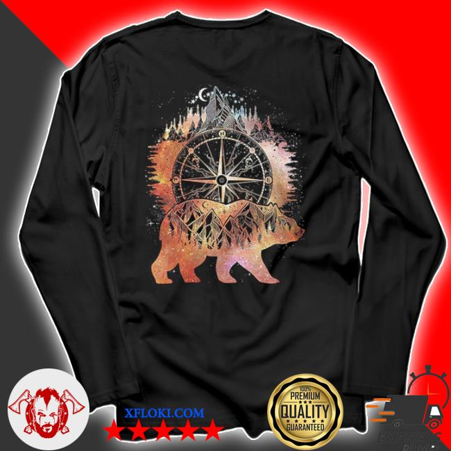 Bear I Hate People ts longsleeve