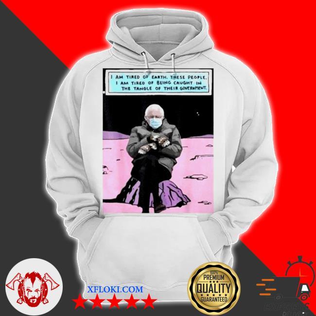Bernie sanders out of the galaxy s hoodie
