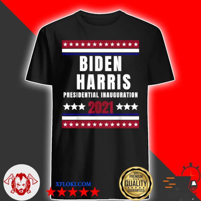 Biden Harris presidential inauguration 2021 end of an error shirt