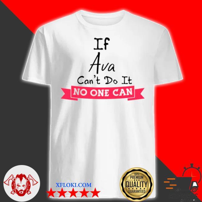 Birthday idea named ava girls personalized avas shirt