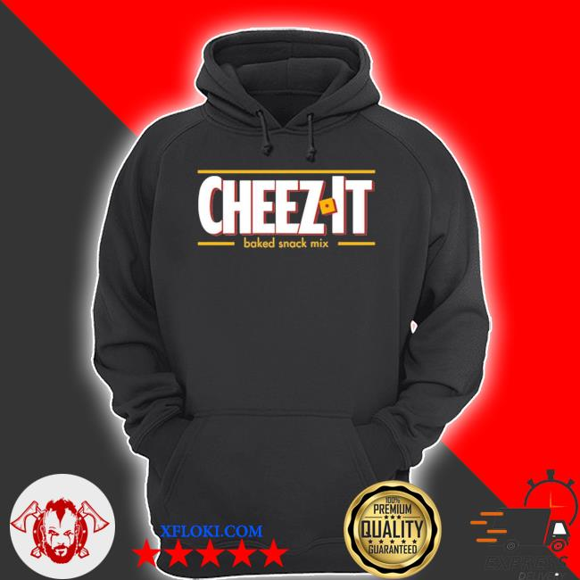 Cheez it baked snack mix s hoodie