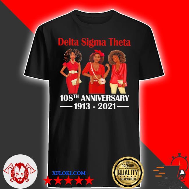 Delta sigma theta 108th anniversary 1913 2021 wear clothes red shirt