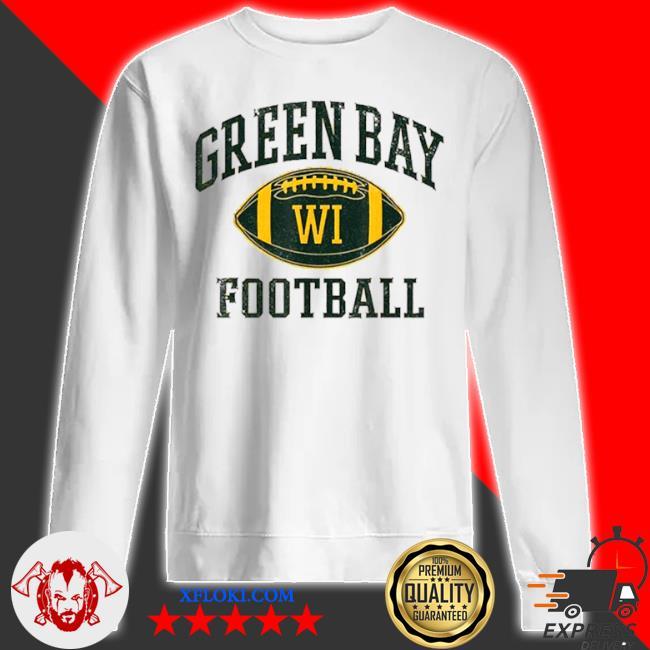 Green bay football wisconsin s sweatshirt