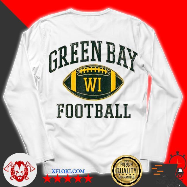 Green bay football wisconsin s unisex longsleeve