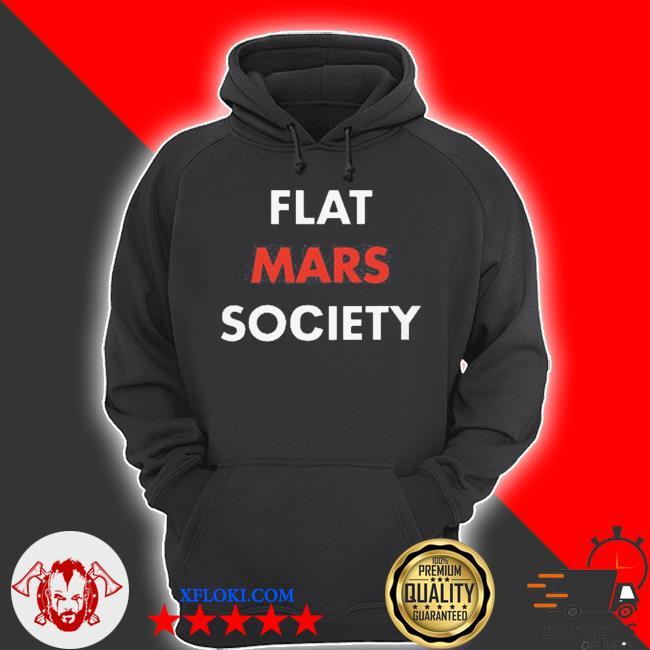 Greta thunberg flat mars society s hoodie