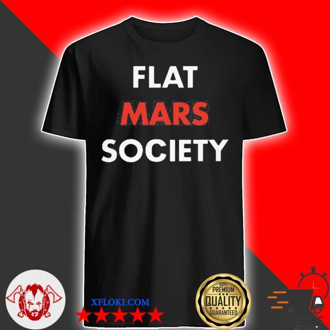 Greta thunberg flat mars society shirt
