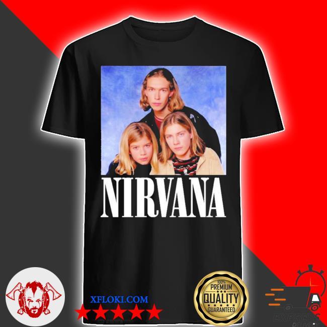 Hanson nirvana kmarttee mens hanson inspired shirt