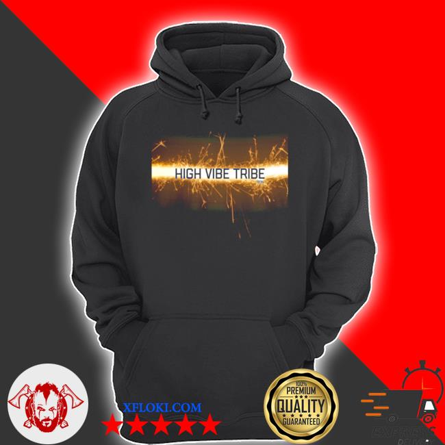 High vibe tribe s hoodie
