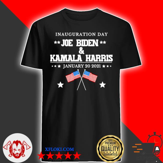 Joe Biden and Kamala Harris inauguration day 2021 retro American flag shirt